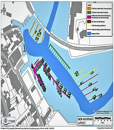 Mooring Works to start at Town Quay
